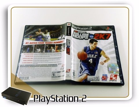 College Hoops Ncaa 2k7 Original Playstation 2 PS2 na internet