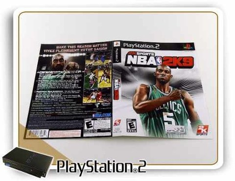 Encarte Nba 2k9 Original Playstation 2 PS2