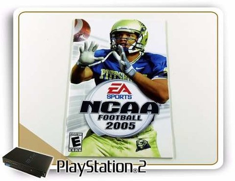 Manual Ncaa Football 2005 Original Playstation 2 PS2