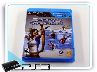Sports Champions Original Ps3 Playstation 3