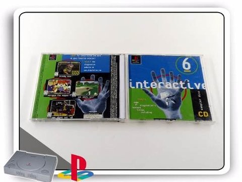 Interactive Cd Sampler Disc 6 Original Playstation 1 PS1 - comprar online