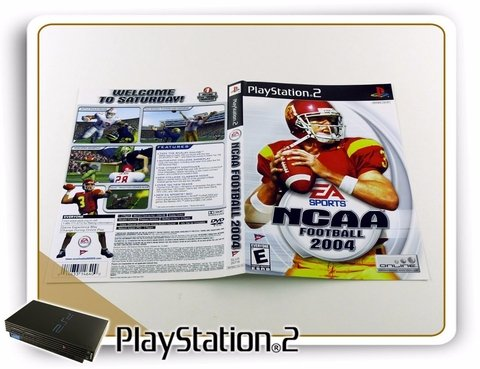 Ps2 Encarte Ncaa Football 2004 Original Playstation 2