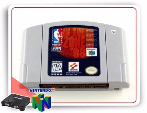 Nba In The Zone 98 Original N64 Nintendo 64