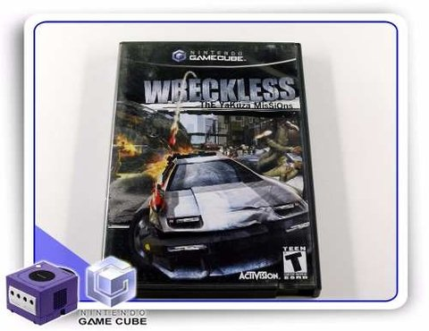 Wreckless The Yakuza Missions Original Gamecube