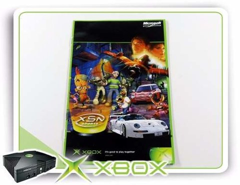 Manual Xsn Sports Original Xbox Clássico