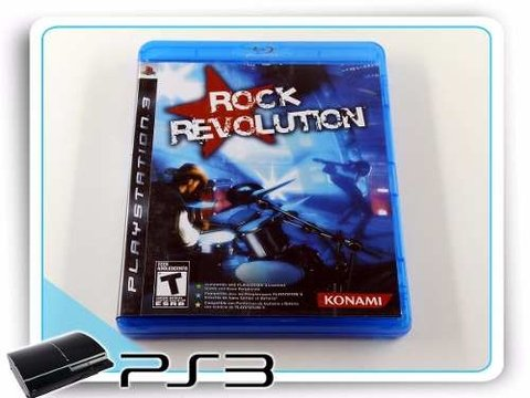 Rock Revolution Original Playstation 3 PS3