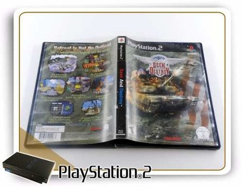 Seek And Destroy Original Playstation 2 PS2 - comprar online