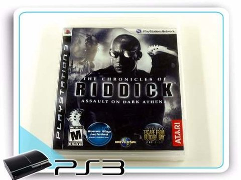 The Chronicles Of Riddick Assault Dark Athena Playstation 3