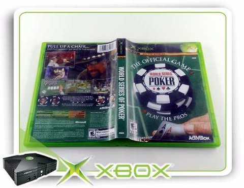 World Series Of Poker Original Xbox Clássico - comprar online
