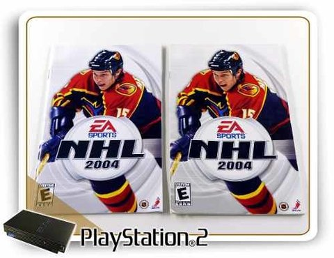 Manual Nhl 2004 Original Playstation 2 PS2 - comprar online