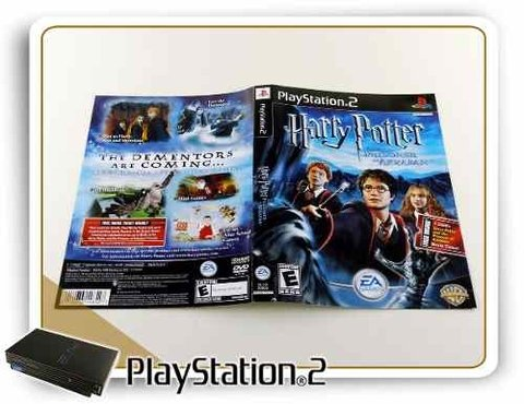 Encarte Harry Potter And The Prisoner Azkaban Original PS2