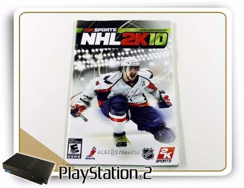 Manual Nhl 2k10 Original Playstation 2 PS2