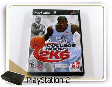College Hoops Ncaa 2k6 Original Playstation 2 PS2