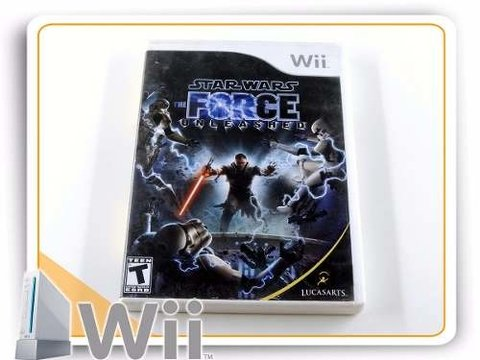 Wii Star Wars Force Unleashed Original Nintendo Wii