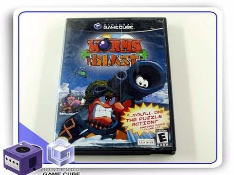 Worms Blast Orignal Gamecube
