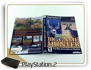 Encarte Cabelas Big Game Hunter Original Playstation 2 PS2