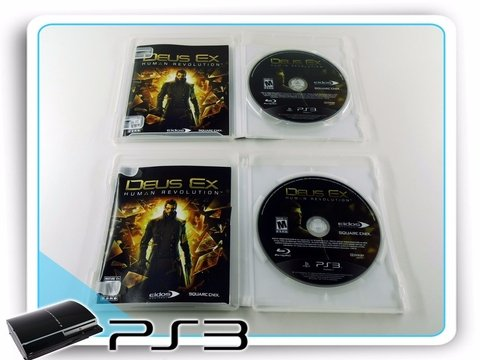 Deus Ex Human Revolution  Original Playstation 3 Ps3 - loja online
