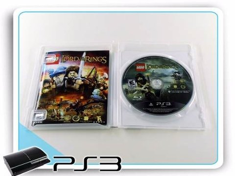 Lego The Lord Of The Rings Original Playstation 3 PS3 - comprar online