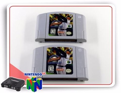 Ken Griffeys Jr Major League Baseball Nintendo 64 N64 - comprar online