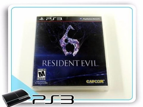 Resident Evil 6 Original Playstation 3 PS3