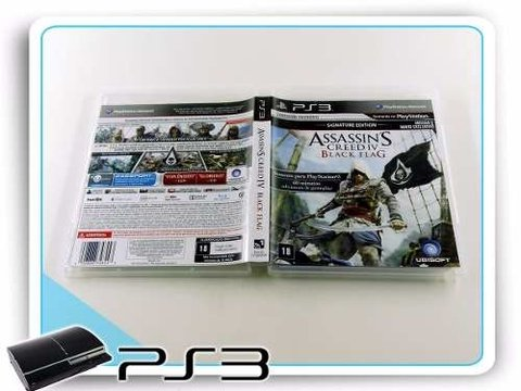 Assassins Creed 4 Black Flag Original Playstation 3 PS3 na internet