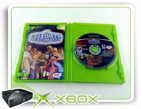 Celebrity Deathmatch Original XBOX Clássico na internet