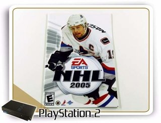 Ps2 Manual Nhl 2005 Original Playstation 2
