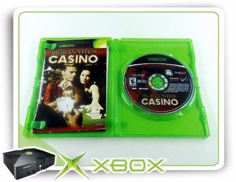 High Rollers Casino Original Xbox Clássico na internet