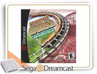 Coaster Works Original Dreamcast Novo