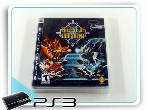 The Eye Of Judgment Original Playstation 3 + Starter Deck
