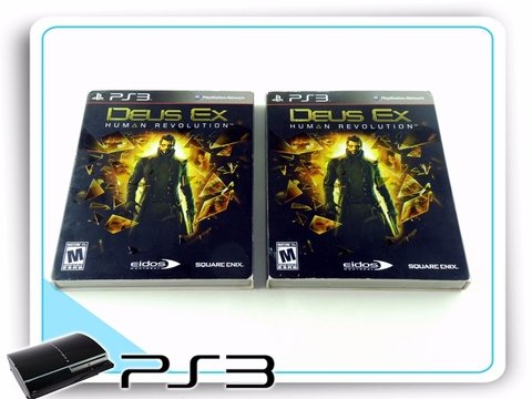 Deus Ex Human Revolution  Original Playstation 3 Ps3 na internet