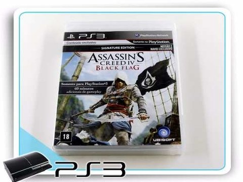 Assassins Creed 4 Black Flag Original Playstation 3 PS3