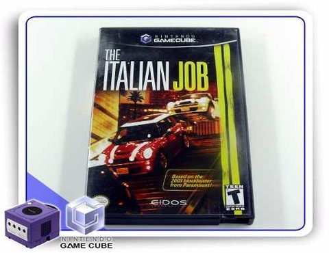 The Italian Job Original Gamecube