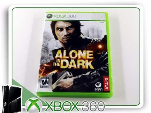 Alone In The Dark Original Xbox 360