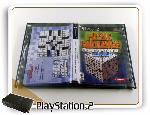 Puzzle Challenge Crosswords Original Playstation 2 PS2 - comprar online