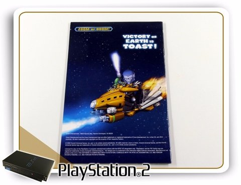 Manual Butt-uggly Martians Zoom Or Doom Original PS2 - comprar online