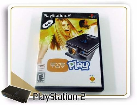 Eye Toy Play Playstation 2 Original PS2