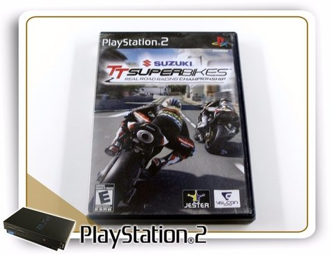 Suzuki Tt Superbikes Original Playstation 2 PS2