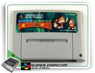 Donkey Kong Country Original Sfc Super Famicom