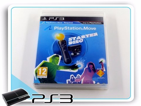 Playstation Move Starter Disc Playstation 3 PS3 Original