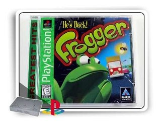 Frogger Original Playstation 1 Ps1