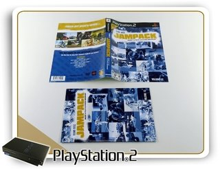 Encarte E Manual Jampack Demo Disc Volume 12 Original Ps2