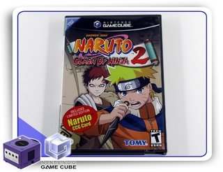 Naruto Clash Of Ninja 2 Original Nintendo Gamecube