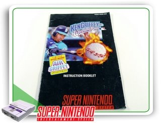 Manual Ken Griffey Jrs Winning Run Original Super Nintendo