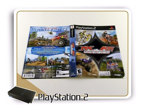 Encarte Mx Vs Atv Unleashed Original Playstation 2 PS2