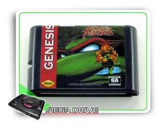 Tmnt Tournament Fighters Sega Mega Drive / Genesis -genérico