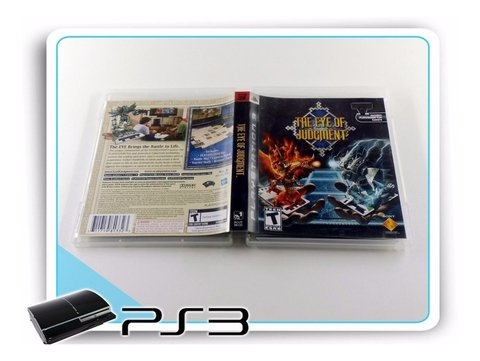 The Eye Of Judgment Original Playstation 3 + Starter Deck - Radugui Store