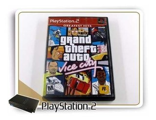 Ps2 Grand Theft Auto Vice City Original Playstation 2
