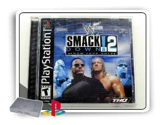 Wwf Smackdown 2 Know Your Role Original Ps1 Playstation 1