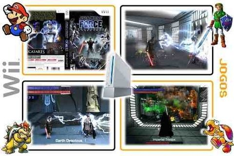 Wii Star Wars Force Unleashed Original Nintendo Wii - Radugui Store